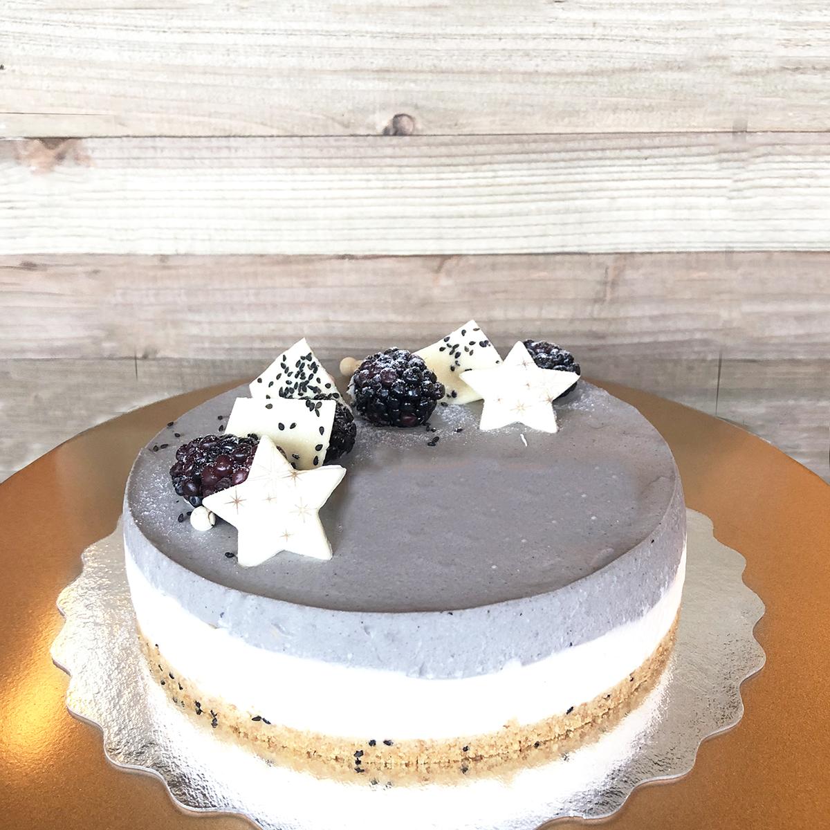 Black Sesame Tofu Cake