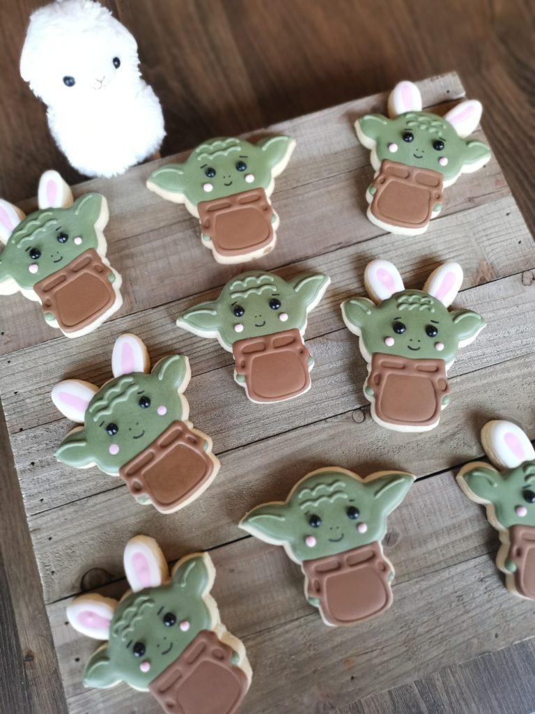 baby yoda cookies oishiii sweets