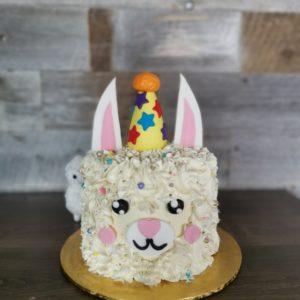 Alpaca Party Cake