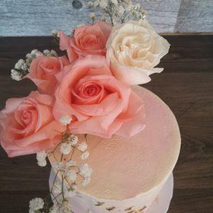 Fresh Flower Cakes