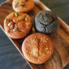 mochi muffin oishiii