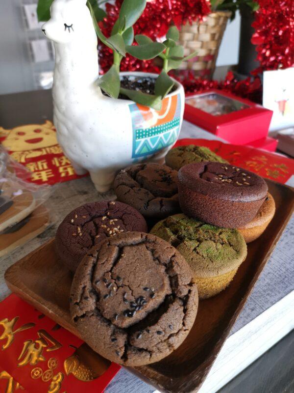 mochi muffin oishiii sweets