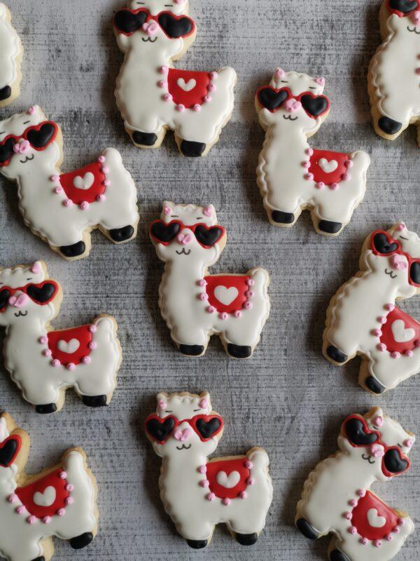 alpaca cookies oishiiisweets